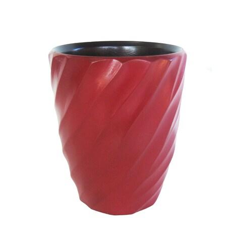 Handmade Chili Pepper Spiral Mango Utensil Vase (Thailand)