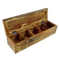 Olivewood Spice Box (China)