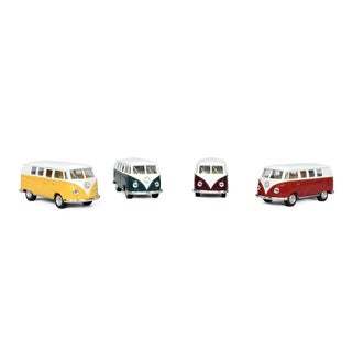 1962 Classic Volkswagen Bus 1/32 Diecast Metal MicroBus (4 options available)
