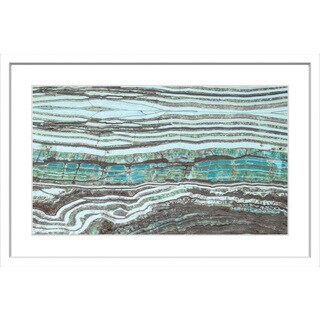 Marmont Hill - 'Millenium Layers' Framed Painting Print