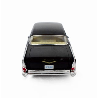 SEAICH DieCast 1957 Chevrolet Bel Air Metal Model