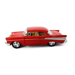 SEAICH DieCast 1957 Chevrolet Bel Air Metal Model (2 options available)
