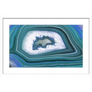 Marmont Hill - 'Waves' Framed Painting Print