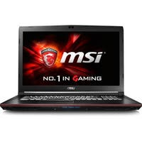 "MSI GP72VR Leopard Pro-284 17.3"" LCD Notebook - Intel Core i7 (7th Ge"