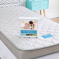 LINENSPA California King-size Innerspring Mattress with Waterproof Protector