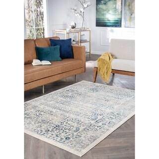Alise Rugs Jordana Cream Persian Area Rug (7'10'' x 10'3'')