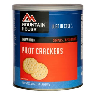 Mountain House Sides and Meats Crackers-Pilot Bread, 67 Servings