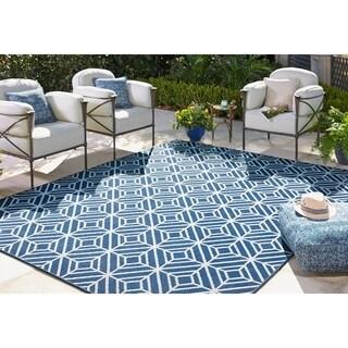 Mohawk Home Oasis Rockport Indoor/Outdoor Area Rug (10'6 x 14') - 10'6 x 14'