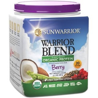 Sunwarrior Warrior Blend Plant Based Organic Protein