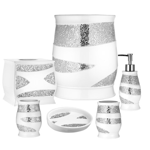 Luxury Bath Accessory Collection Set or Separates