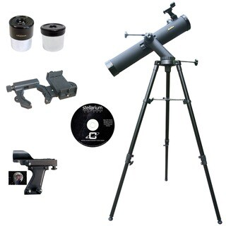 Cassini SS-80090TR 800mm X 90mmAstronomical Reflector Telescope with Smartphone Photo Adapter