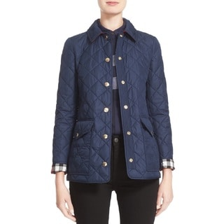 Burberry Westbridge Navy Quilted Jacket