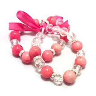 Pink Jade Ribbon Bracelet|https://ak1.ostkcdn.com/images/products/14046097/P20662184.jpg?impolicy=medium