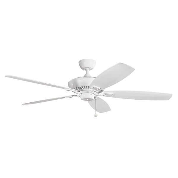 Kichler Lighting Canfield Collection 60 Inch White Ceiling Fan