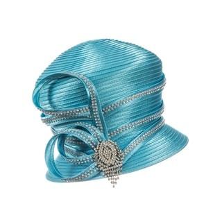 Giovanna Signature Women's Decorated Satin Ribbon Hat
