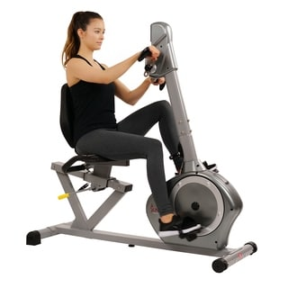 SF-RB4631 Sunny Health & Fitness Recumbent Bike With Arm Exerciser