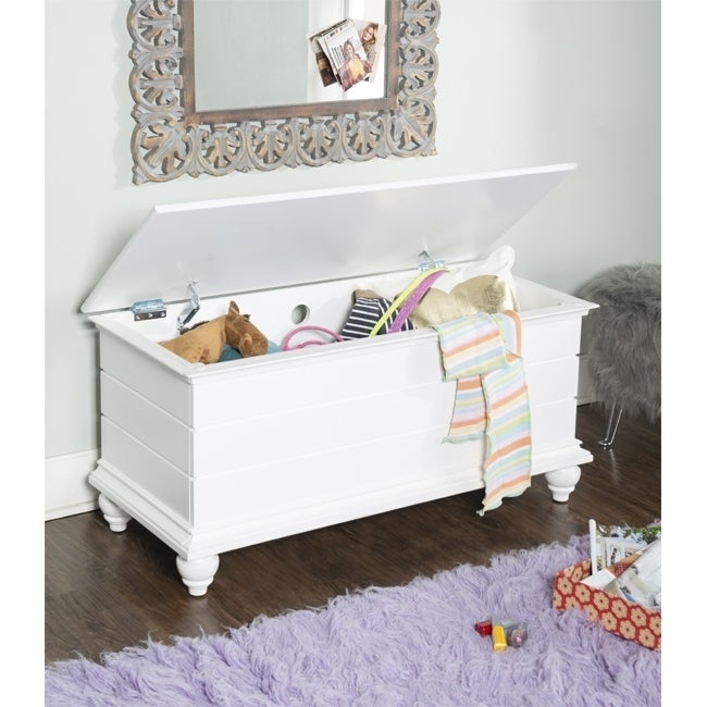 Powell Furniture Whitehurst Cedar Storage Chest (white)