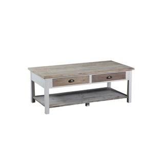 Powell Brighton Driftwood Pine MDF Coffee Table