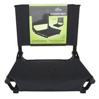 Portable Black Stadium Seat (Standard Size)