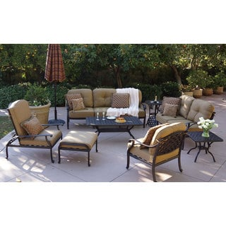 Black patio furniture shop the best outdoor seating for Best patio set deals