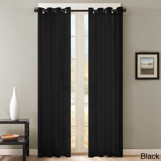 Curtains Ideas black sheer curtain : Black Sheer Curtains - Shop The Best Deals For Apr 2017