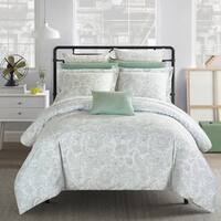Chic Home 4-Piece Newark Park Green Duvet Cover Set