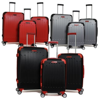 Swiss Cargo 3-Piece Expandable Hardside Spinner Luggage Set