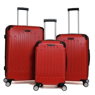 Swiss Cargo 3-Piece Expandable Hardside Spinner Luggage Set