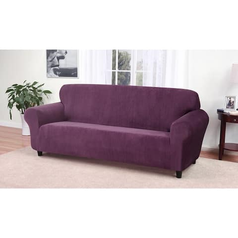 Buy Purple Sofa Amp Couch Slipcovers Online At Overstock