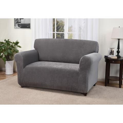 kathy ireland Day Break Spandex Blend Loveseat Slipcover