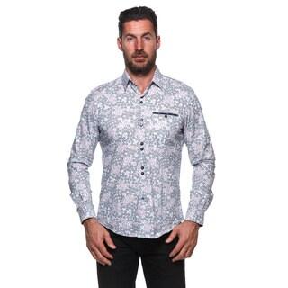 Isaac B. White Cotton Long-sleeved Button-down Shirt