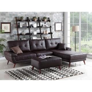 Yosmite-2-piece Sectional Sofa Set W/Ottoman
