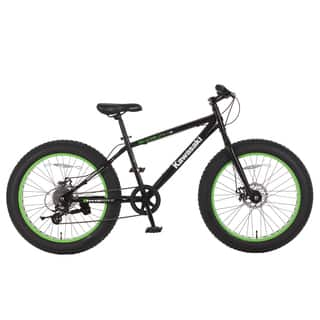 Kawasaki Shogun Black 24x4-inch Wheels Fat-tire Bike|https://ak1.ostkcdn.com/images/products/14046760/P20662766.jpg?impolicy=medium