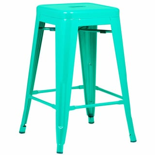 Edgemod Trattoria 24 Inch Counter Stool (Set of 4)