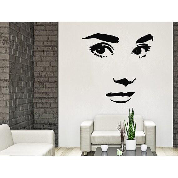 Shop Makeup Wall Decal Vinyl Sticker Decals Home Decor Mural Make Up ...