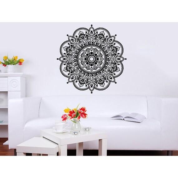 shop mandala wall decal yoga studio vinyl sticker decals ornament