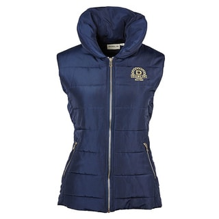 Dublin Women's Alice Blue/Gold Quilted Vest