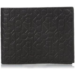 Calvin Klein Men's Signature Embossed Billfold Wallet