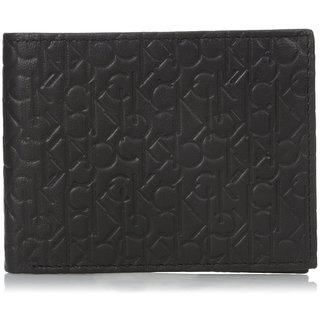 Calvin Klein Men's Signature Embossed Billfold Wallet