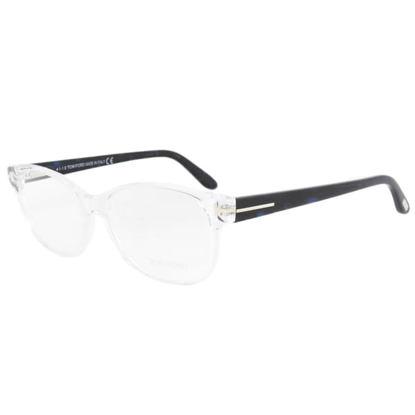 Eyeglasses Frame Measurements : Tom Ford FT5406 026 Unisex Clear/Blue-black Frame Size ...