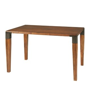 INK+IVY Frazier Brown Dining Table