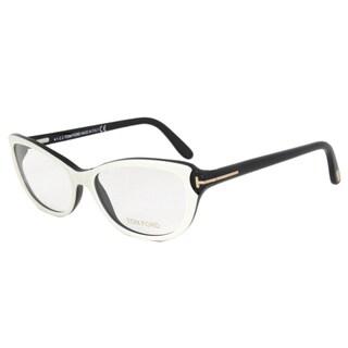Tom Ford FT5286 024 Unisex Black & White Size 54 Eyeglass Frame Tom Ford Eyeglasses Frame TF5378-F 001 Black Frame 51mm