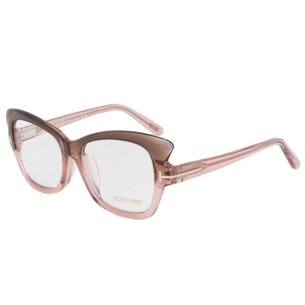 Eyeglasses Frame Measurements : Tom Ford FT4268 074 Womens Gradient Pink-Grey Frame Size ...