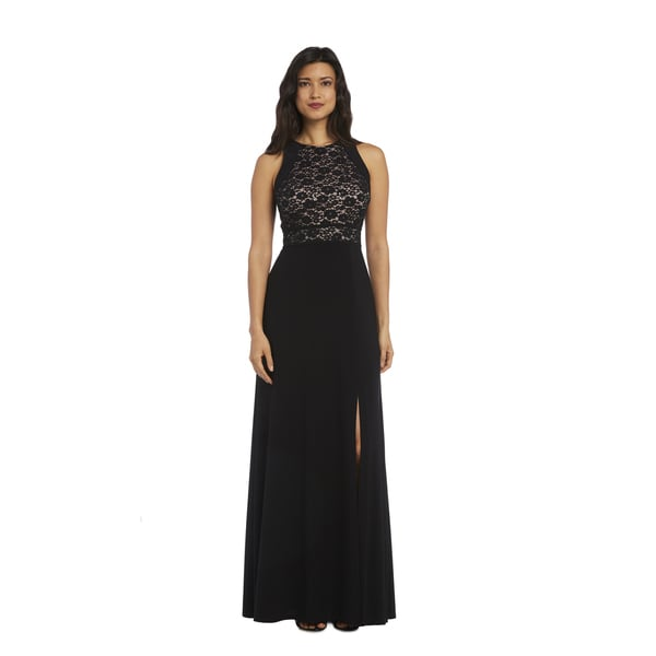 Nightway 1224 Lace Gown