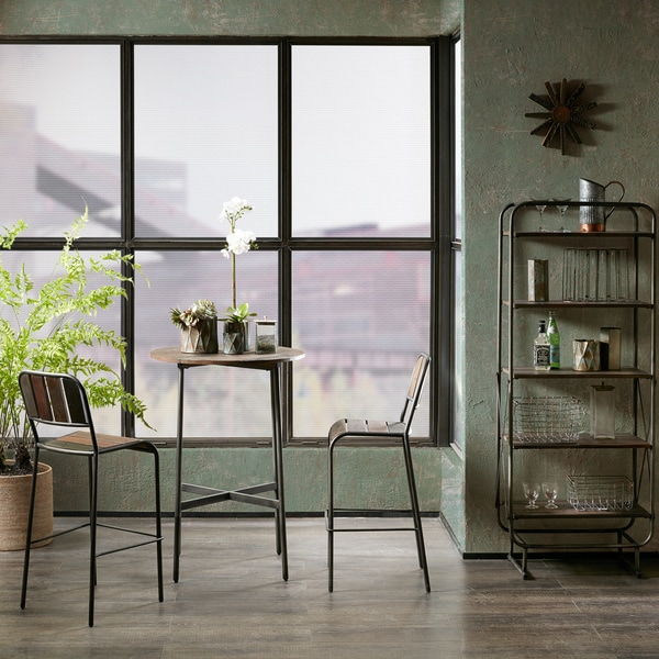 INK+IVY Renu Light Brown Bar Table