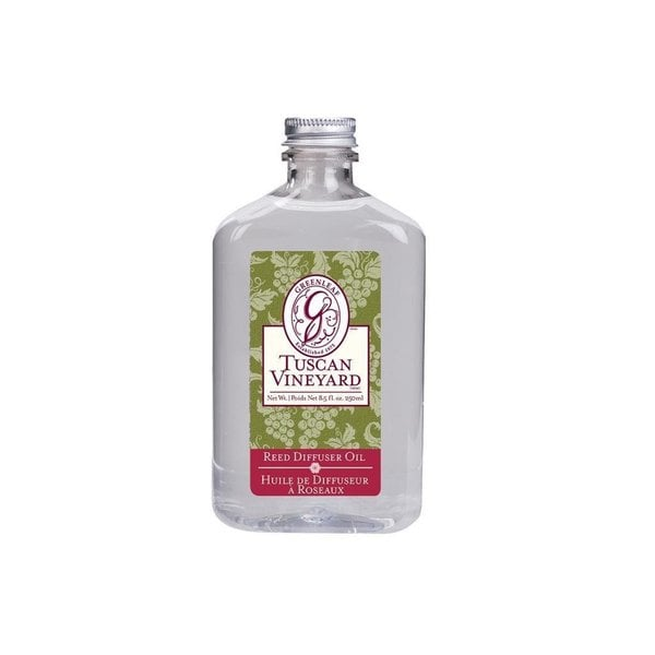 Greenleaf Reed Tuscan Vineyard 8 5 oz  Diffuser Scented Oil Refill