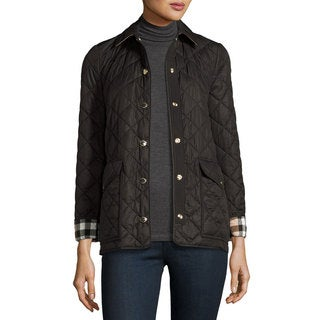 Burberry Westbridge Black Quilted Jacket