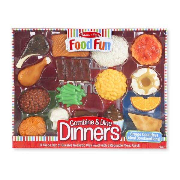 Melissa & Doug Food Fun Combine & Dine Dinners