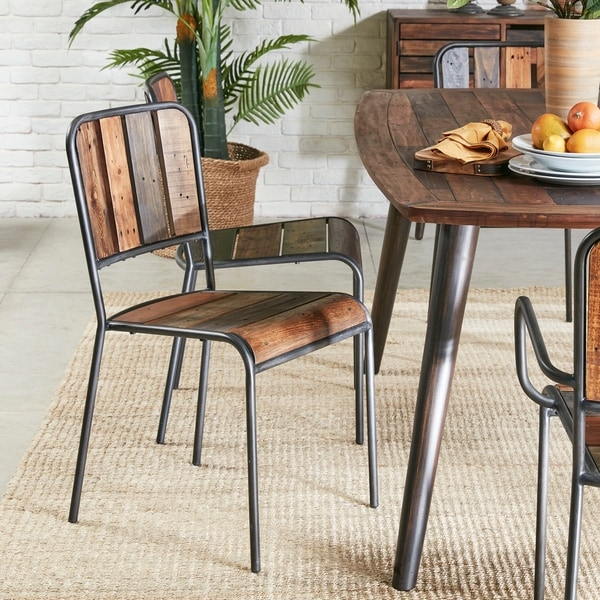 Shop Ink Ivy Renu Light Brown Dining Chair Set Of 2 17