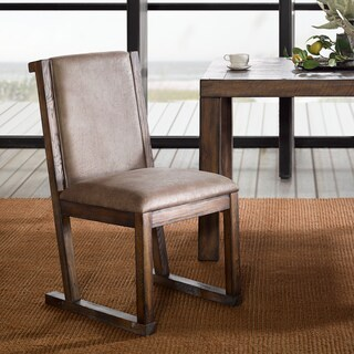 """INK+IVY Easton Taupe/ Natural Dining Chair (Set of 2) - 19""""w x 27.125""""d x 35.875""""h(2)"""
